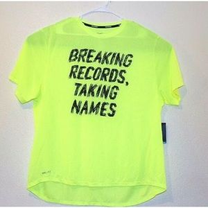 NIKE Running Dri Fit Men's  Running Shirt Poly XXL
